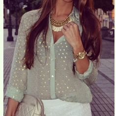 Blouse + accessories