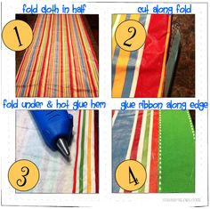 This is a tutorial for making simple, cost-efficient classroom curtains, but this trick could work at home too! Simple, no-sew curtains!