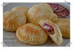 RUSTICI SFOGLIATI CON RICOTTA E SALAME fragolaelettrica.com Le ricette di Ennio Zaccariello #Ricetta