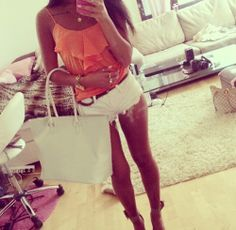 Fashion Style Inspiration #Outfit #shorts white