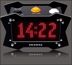 Xronos Clock V2.1 - LED Arduino Based Talking Alarm Clock (pre-assembled)