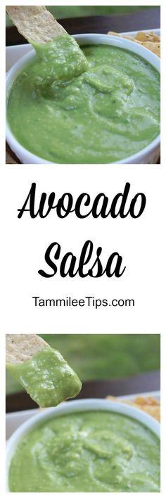 Super delicious and easy to make Avocado Salsa Recipe!