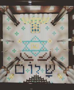 Sky view of my synagogue in Minecraft #shalom #israel #peace #maguendavid #starofdavid #sinagoga #synagogue #poland #spain #turkey #sepharadi #sefarad #menorah #candle #light #torahstudy #tora #torah #minecrafter #minecraft #videogames