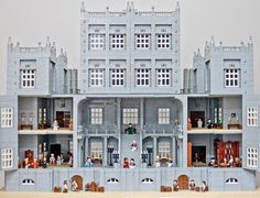 18th Century Palace interior all made with LEGO. Explore further: http://mocpages.com/moc.php/331517