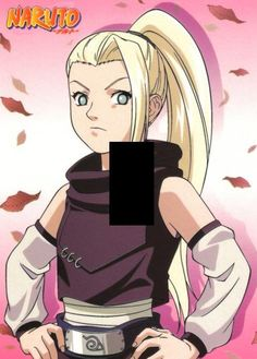 Ino Yamanaka from Naruto shippuden light by SindyOriginalDecor, $6.80
