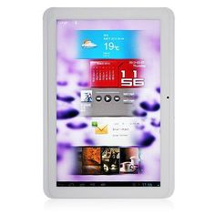 ALLFINE FINE10 Joy Dual Core RK3066 MID Tablet PC 10.1 Inch Android 4.1 IPS Screen 1G 16G HDMI Color White