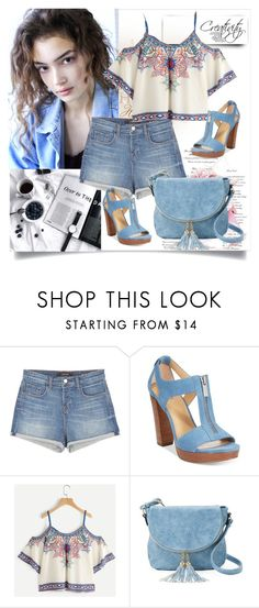 """Summer look"" by creativity30 ❤ liked on Polyvore featuring J Brand, Michael Kors and Deluxity"