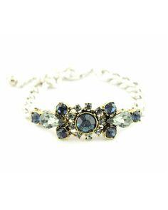 Art Deco Silver and Sapphire Bracelet - JUST GORGEOUS, OUI !!