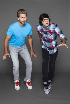 Rhett and Link Don't ever call here at this time again. !