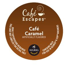 Café Caramel Specialty K-CUP® SPECIALTY. Buttery rich. Silky smooth. Captivatingly caramelicious.