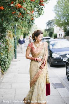 Bridal Fashion , sabyasachi dress, kew gardens, london, wedding http://www.plentytodeclare.com/london-kew-gardens-wedding-of-sneha-farhaan/