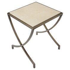 Steve Side Table, Brass $399.00