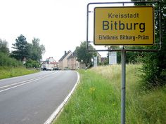 Bitburg, Germany...home for 5 years! I will return some day!