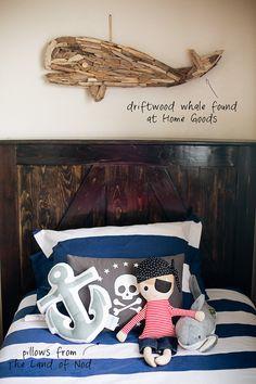 pirate nautical theme bedroom