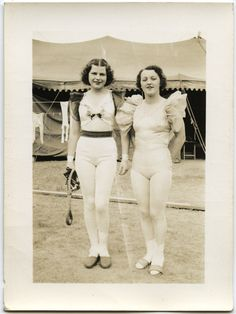 Dolores and Nelle at the Circus