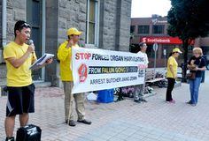 #Falun Gong protest targets China - Brockville Recorder and Times: Brockville Recorder and Times Falun Gong protest targets China…