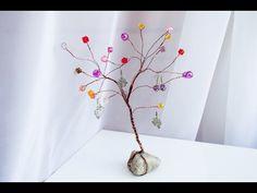 МК: Самое Простое Дерево Из Проволоки И Бусин.
