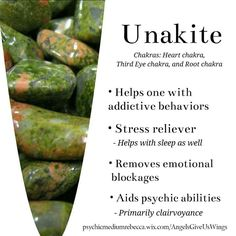 Unakite crystal meaning