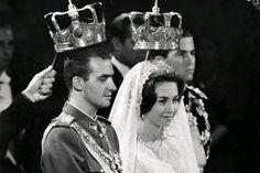 Juan Carlos di Spagna e la Principessa Sofia di Grecia