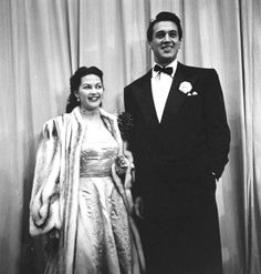 Yvonne de Carlo and Rock Hudson