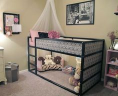 With a second child on the way we recently purchased IKEA's popular Kura bed for our 4-year-old. We chose it because with the bed in the lofted position (it can