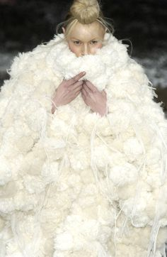 Alexander McQueen at Paris Fashion Week Fall 2003 - StyleBistro