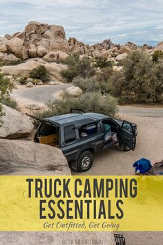 Do you have all the essential truck camping gear? Visit the Truck Camping Store to get outfitted and get going. Here's the gear I've been using for many years and many 10's of thousands of miles.