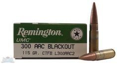 Remington .300 AAC Blackout 115gr CTFB L300AAC2