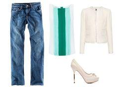 das de #Blanco, #Mango y #HM! #outfit #springsummer2012