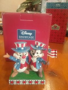 Jim shore disney traditions  chip and dale us import