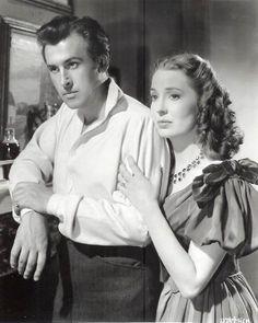 """Stewart Granger & Valerie Hobson - """"Blanche Fury"""" (1948)"""