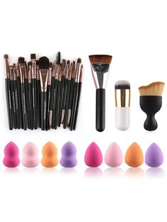 $12.99 Makeup Brushes and Beauty Blenders - COLORMIX