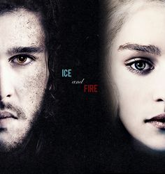Game of Thrones: Jon Snow and Daenerys Targaryen (Kit Harington and Emilia Clarke)