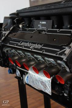 "Lamborghini F1 Engine - ""Lamborghini Museum / Showroom – an art gallery for the car lover"" by @getpalmd"
