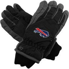 '47 Brand Buffalo Bills Carve Ski Gloves - Black