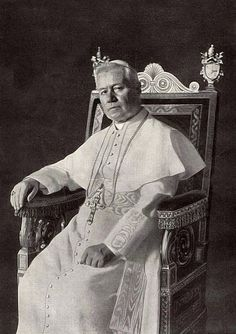 """Today with the Saints August 21: Saint Pope Pius X • Activity: Make a banner that says, """"Restore All Things to Christ"""""""