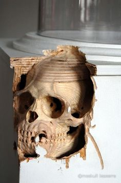 Maskull Lasserre Painstakingly Carves Everyday Objects Into Creepy Sculptures