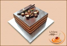 Praline Chocolate, Chocolate Cake, Desserts To Make, Dessert Recipes, Dumbo Cake, Hot Air Balloon Cake, Steamed Cake, Couture Cakes, Baby Cakes