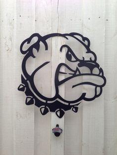 20 Bulldog Georgia dog university of Georgia by SouthernGreeters, $55.00