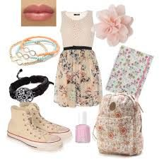 Designer Clothes, Shoes & Bags for Women Teen Girl Fashion, All Fashion, Cute Fashion, Skirt Fashion, Womens Fashion, Violetta Outfits, Violetta Live, Character Inspired Outfits, School Dresses