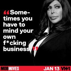 Ang wisdom  #MobWives