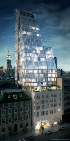 The New York City Cantilever: If You Can't Go Up, Go Out