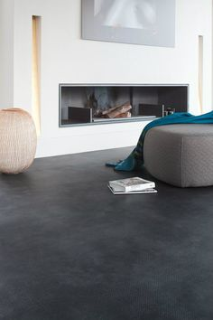 If you're looking for inspiration for your next flooring project then take a look at our designer vinyl flooring ranges. Search by room, design or trend. Linoleum Flooring Rolls, Vinyl Sheet Flooring, Troy, Diy Interior, Interior Design, Sol Pvc, Grey Sheets, Inspiration Design, Home Room Design