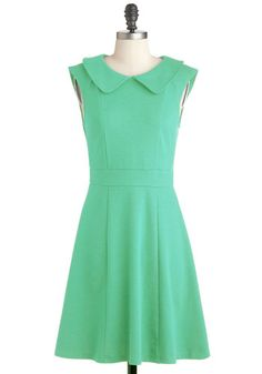 Foxtail & Fern Dress in Leaf, #ModCloth ohhh I love this one, and I think my brides-ladies will love the price :D
