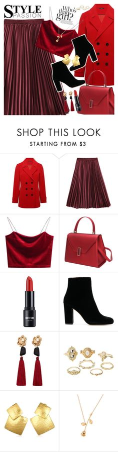 """""""Style passion"""" by vanjazivadinovic ❤ liked on Polyvore featuring M&Co, MANGO, Charlotte Russe, Oscar de la Renta, polyvoreeditorial and gamiss"""