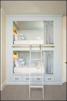 Bunk Beds! - They're Fun, Space-Saving And, as You Can See Here, a Lot of Fun