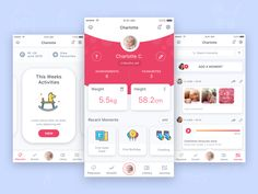 Baby Stimulation Mobile App for Parents by Aqeela Valley