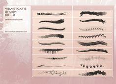 Velvetcat's Brush Set_2 by velvetcat.deviantart.com on @deviantART