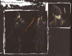 Lord's Blade Ciaran from the Artorias of the Abyss LE artbook for…