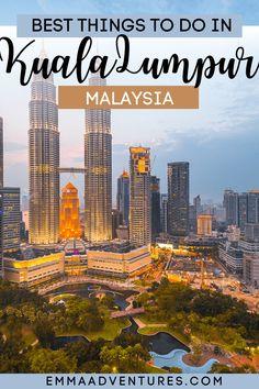 top things to do in Kuala Lumpur Malaysia Itinerary, Malaysia Travel Guide, History Of Malaysia, Kuala Lumpur City, Petronas Towers, Epic Photos, Thing 1, Top Destinations, Asia Travel